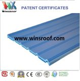 Tipo trapezoidale alto tetto delle mattonelle di tetto di vittorie PVC/UPVC di Strengh-UPVC