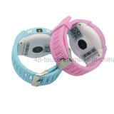 1.4 '' traqueur rond de montre de l'écran GPS avec l'appareil-photo (D14)