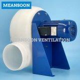 Ventilador centrífugo anticorrosión plástico para la ventilación de extractor