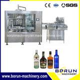 Prezzo di fabbrica della macchina imballatrice di riempimento in bottiglia vetro del vino