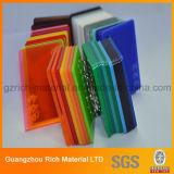 プラスチックPMMAのプレキシガラスシートの風防ガラスカラーアクリルのボード