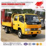 Vrachtwagen van de Lading van de Zijgevel van de Cabine van de Rij van Dongfeng 4X2 de Dubbele Lichte