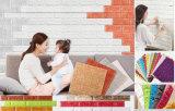 Briques Inon-Toxiques de papier/panneau de mur de mousse de XPE pour la décoration de Chambre