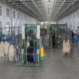 Al aire libre de 8 núcleos bajo el agua o directamente enterrado trenzado de la capa de fibra óptica fabricado en China