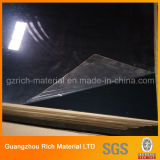 Hoja plástica del espejo del bronce oscuro/de la hoja de acrílico negra PMMA del espejo del color