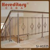 AISI 304 het BinnenSysteem van het Traliewerk van het Roestvrij staal van de Leuning van de Trede (sj-813)