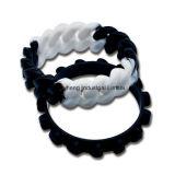 Silicium fait sur commande bon marché de mode de vente en gros d'aperçu gratuit d'usine de la Chine de bracelet de silicones