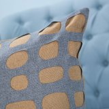 Met de hand gemaakt Decoratief Kussen/Hoofdkussen met uit:hollen-uit Geometrisch Patroon (mx-06)