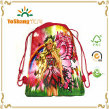 Fancy and Adorable Cartoon Frozen, Printed Drawstring Shoes Mochila Bolsa