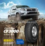 Pneu Radial M / T com alto desempenho, pneu de carro sem câmara, fornecedor de pneus SUV