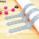 Best Selling Beautiful Luxurious Crystal Shine Rhinestone Beaded Hand Made Wedding Dress Belt