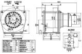 Ini 발명품 특허를 가진 유압 자유로운 가을 건축 윈치