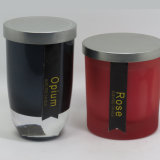 Decorative Wholesale Scented Soy Knell Candle with Lid Metal
