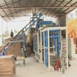 máquina de fabricación de ladrillos automática para la construcción edificio