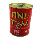 Tom fina Marca Doble Concentrado salsa de tomate en latas de conserva 400 g