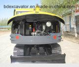 Excavatrice neuve de Bd90 petite 0.5m3/8.5t Ceawler à vendre