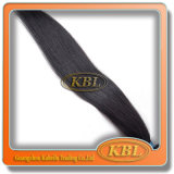 Weave волос цвета черноты двигателя бразильский