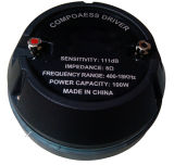 De professionele Bestuurder van de Compressie van het Titanium HF van de Luidspreker