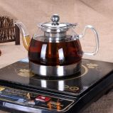 Het Kooktoestel die van de inductie direct de Pot van de Koffie van de Pot van de Thee verwarmen