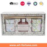 Домашняя аромат подарочный набор с ароматом эфирного масла пластинчатый диффузор и вотиве ароматические свечи