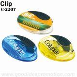 Clip magnético plástico redondo promocional