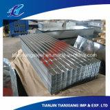 Folha de perfil SGCC Sgch Galvanized Corrugation Roofing Sheet