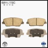 Garnitures de frein D1439 arrière pour les pièces de rechange de véhicule de Hyundai/KIA