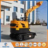 安い価格の中国の小型掘削機セリウムが付いている0.8トンの掘削機のクローラー掘削機