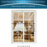 Vidro corrediço de porta pendurada de alumínio para jardim e varanda privada e pátio