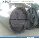 pianta di riciclaggio gemellare di pirolisi del pneumatico di stile 20ton