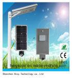 Im Freien Solarstraßenlaternealles in einem
