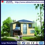 China prefabriceerde de Lichte PrefabVilla van het Huis van het Frame van het Staal