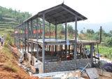 取除かれる農場の金属の屋根の記憶(KXD-SSB1176)