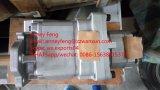 Bomba de engranaje hidráulica de KOMATSU de la bomba genuina 705-53-31020 para el cargador Wa600-3