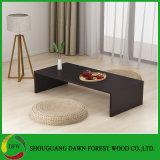 Mesa de centro simples de madeira do preço barato moderno da melamina