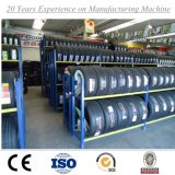 Depósito de almacenamiento apilable plegable de metal Comercial Tire Rack