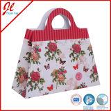 2016 Saco de papel de compras saco de papel de presente de flores
