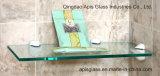 Удалите 10 мм / матовое закаленное стекло полки полки для Showeroom / Настенный дисплей угловой стойки