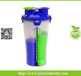 copo do abanador da proteína 600ml com tampa nova