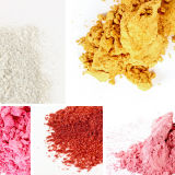 Pearl para recubrimiento de polvo de pigmento
