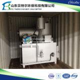 50-100 pequeño incinerador de la basura del hospital de las camas, incinerador inútil de los compartimientos duales
