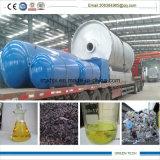 10ton máquina de reciclagem de pneus extrai o óleo dos pneus com bom serviço