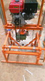 Pequeña plataforma de perforación plegable portable del receptor de papel de agua del motor de gasolina para el uso de la familia