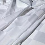 Tela poli impressa algodão 100% da tela do fio de linho da tela