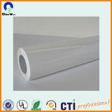 1,27*50m 120gsm auto-adhésif blanc en vinyle PVC autocollant pour carrosserie de voiture