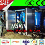 Equipo de la regeneración/de proceso del petróleo del transformador del vacío, máquina del purificador de petróleo