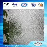 Vidro padrão//vidro impresso figurado de vidro/vidro estampado com o padrão de losango