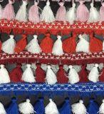 Bunt Handcraft Spitze-Troddel für Vorhang-Dekoration