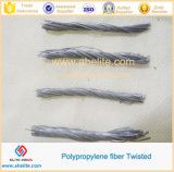 Durability rendente incombustibile pp Twisted Fiber per Concrete Reinforcement