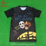 Healongの上の販売のスポーツ・ウェアのシルクスクリーンの印刷のTシャツ